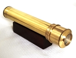 Mini Brass Escape kaleidoscope by Karl and Jean Schilling
