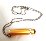 Gold Teleidoscope Necklace by Koji Yamami