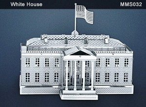 Metal Marvels White House