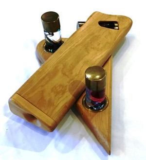 Vintage Wooden Kaleidoscope by Henry Bergeson