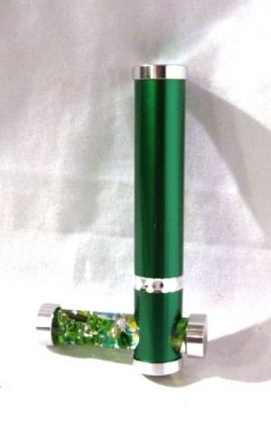 Green Tiny Tube kaleidoscope by Koji Yamami