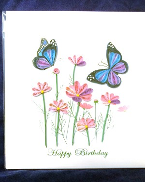 Quillling Card - Happy Birthday