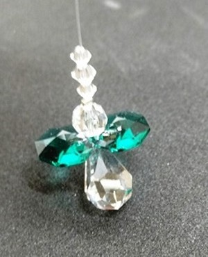 Emerald Crystal Angel