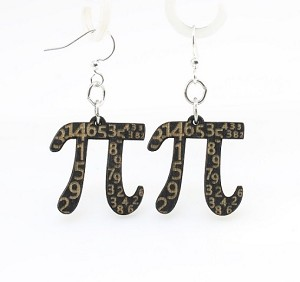 GreenTree earrings - Pi