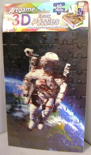 Space Walk Jigsaw 3D