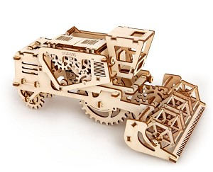 Wooden Mechanical Combine Kit by Ugears