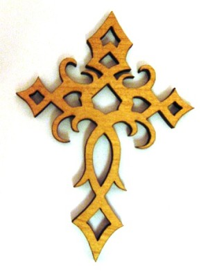 Celtic Cross Ornament 1