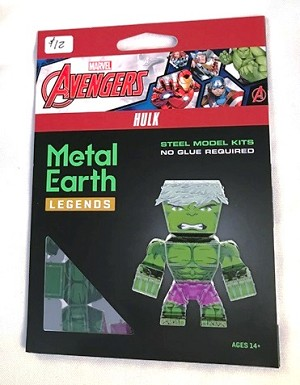 Metal Earth Legends - Marvel Avengers, Hulk Model