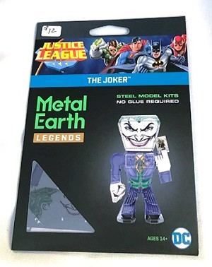 Metal Earth Legends - Justice League, Joker Model
