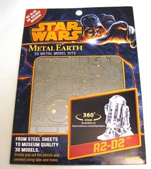 Metal Earth - Star Wars R2D2