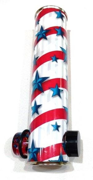 Patriotic Trophy Kaleidoscope by Barbara Spikes